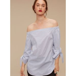 Babaton Malik Off Shoulder Blouse